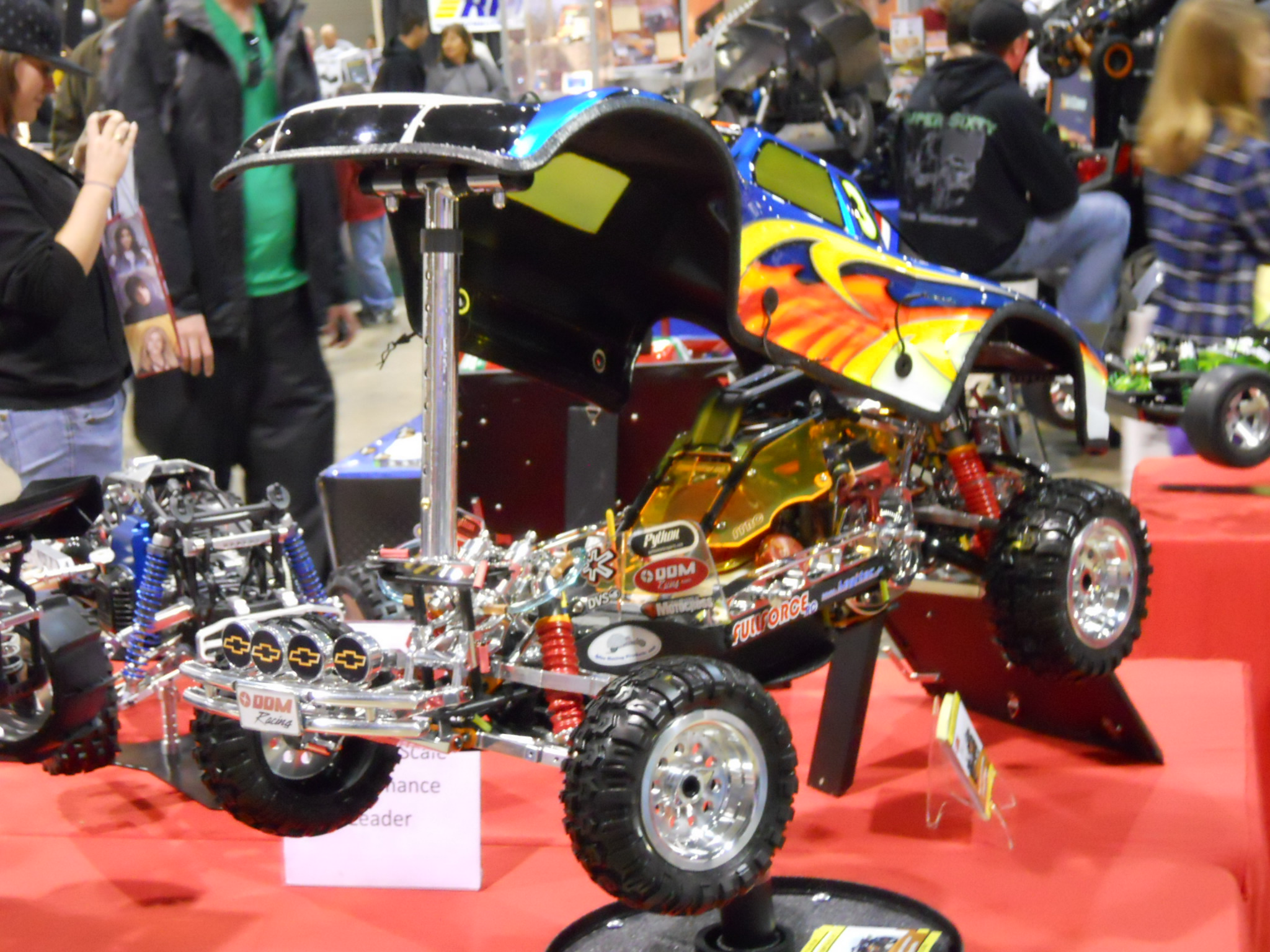 Monster Truck Rc Cars >> RCX 2011-TGN Rocks the Show - RC Car Action