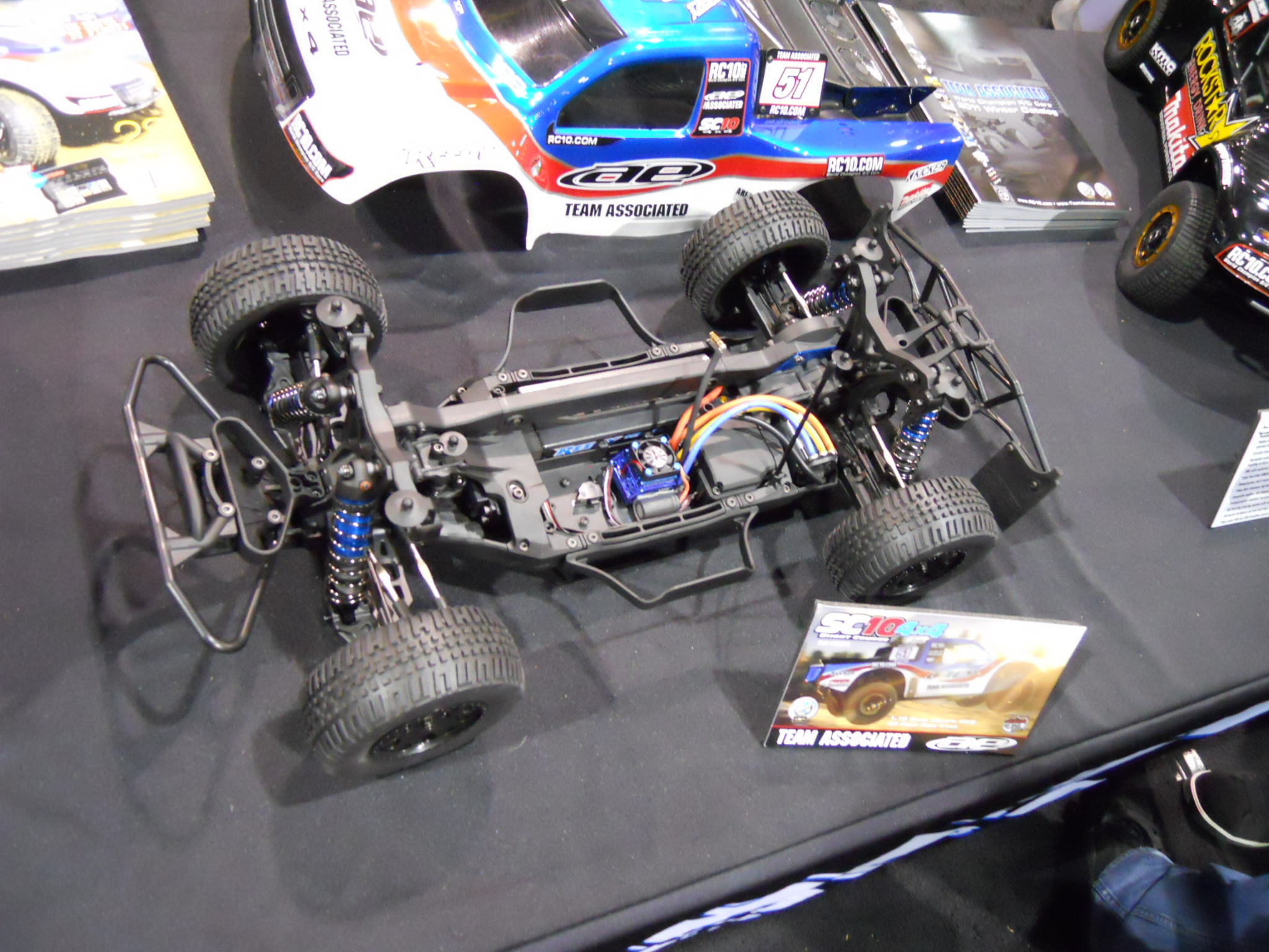 RCX 2011–Associated shows off SC10 4×4