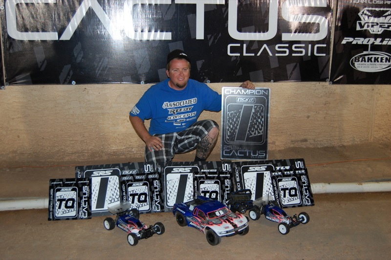 Ryan Maifield And JConcepts Triple Punish At Cactus Classic