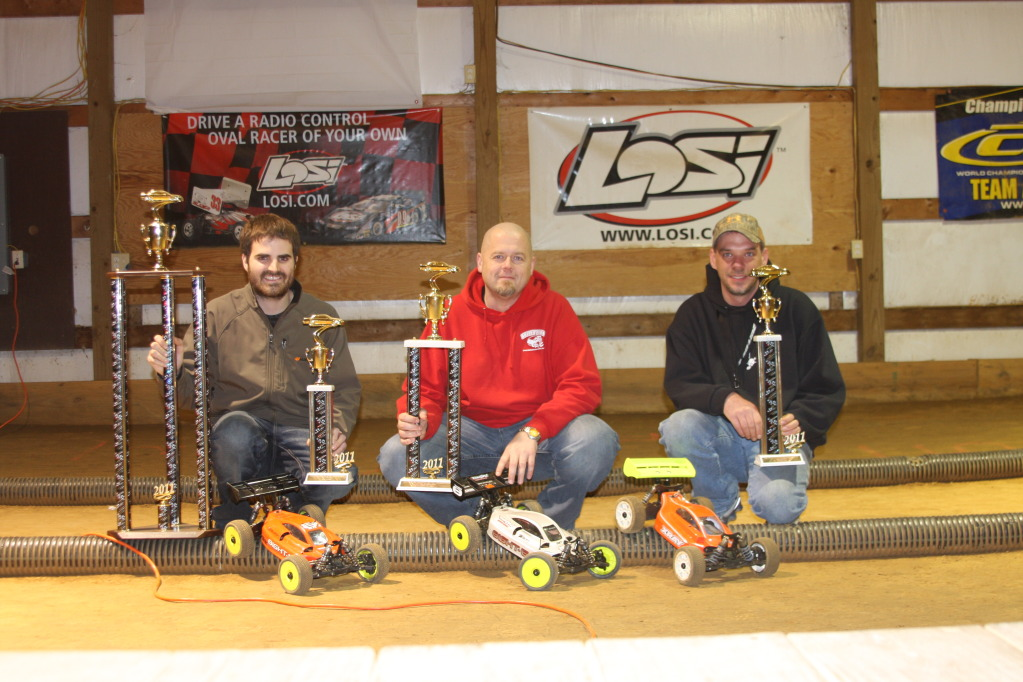 Tekin Powered David Wall Wins The Indiana Championships In 1/8 Electric Buggy