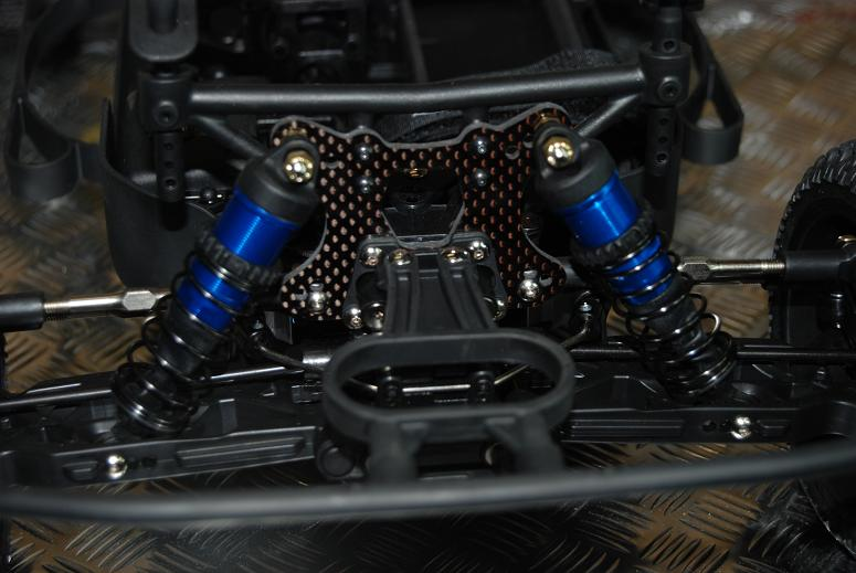 Jammin Carbon Fiber Front Shock Tower For The Losi TEN-SCTE 4WD Short Course Truck