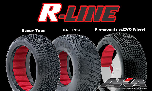 AKA R-Line EVO Pre-Mounts And Soft Red Inserts