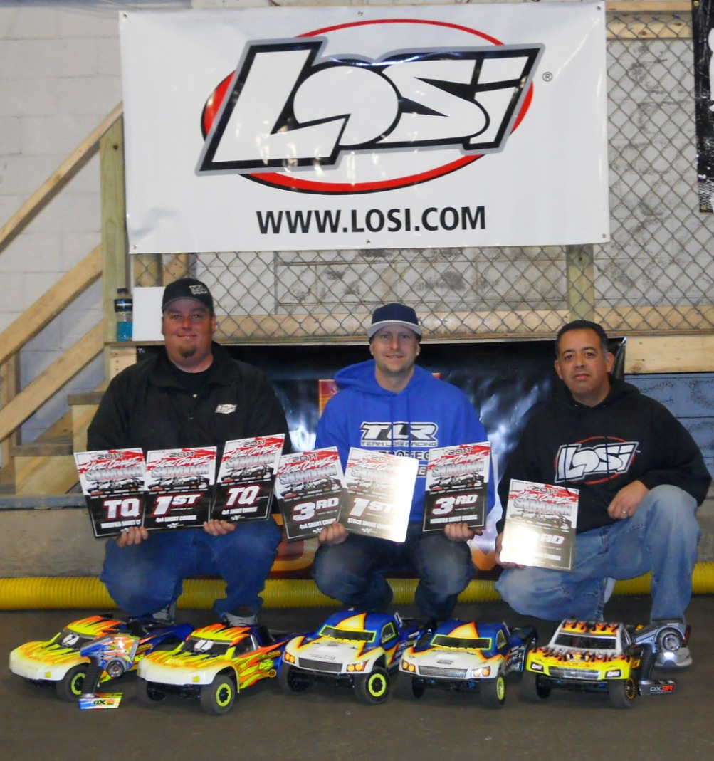 Team Losi Racing Wins 4WD SC And 17.5 Spec Class At Round 1 Of Short Course Showdown