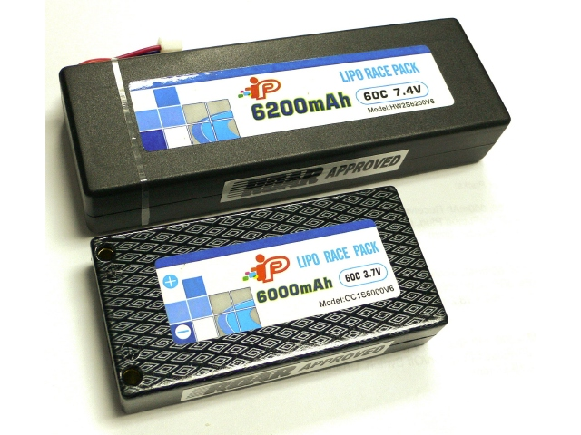 Epic Intellect 60c LiPo Race Packs
