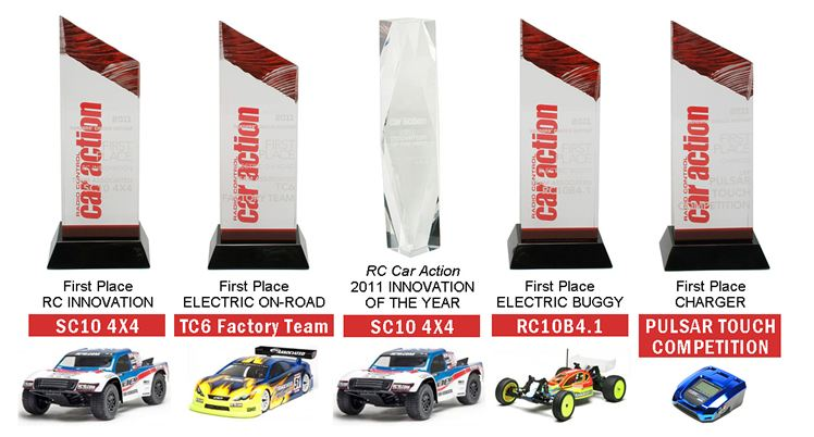 Team Associated Wins Big At The 2011 RC Car Action Readers' Choice Awards