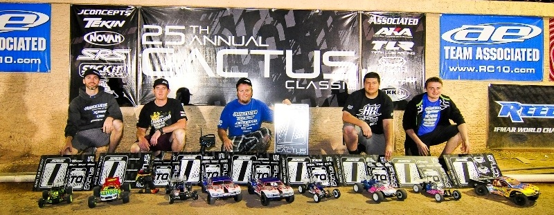 Team Associated's Ryan Maifield Leads The Team To 8 Titles At The 25th Annual Cactus Classic