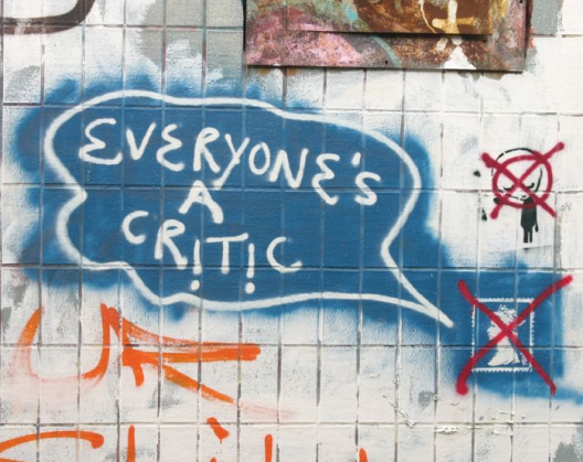 More Critics Than Racers