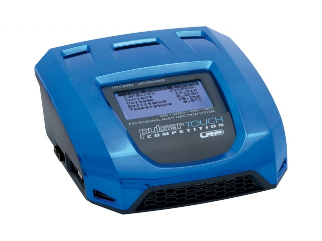 Firmware v1.44 Now Available For The LRP Pulsar Touch Competition Charger