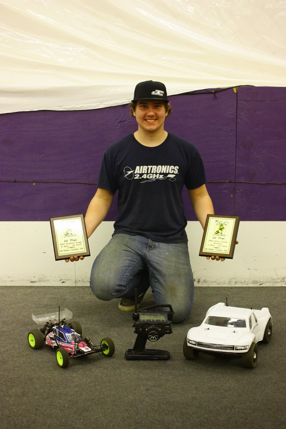 JConcepts Wins At Rally For St. Paddy's Day Race