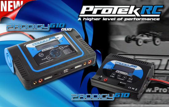ProTek R/C Prodigy 610 And Prodigy 610 DUO Chargers