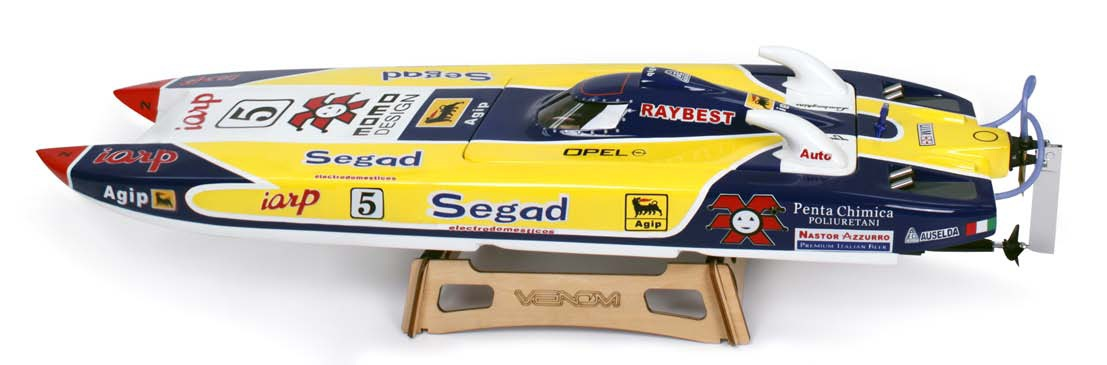 "Venom Segad C1 34in Brushless And King Of Shaves P1 56"" RTR Gas Boats"