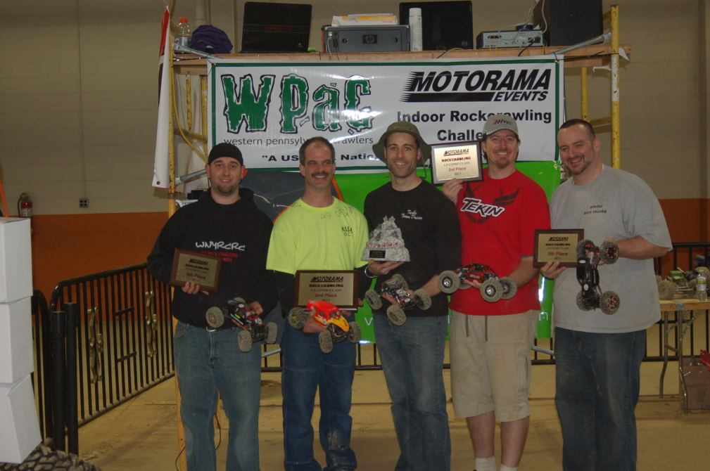 Tekin Wins At Motorama Indoor Rock Crawling Challenge