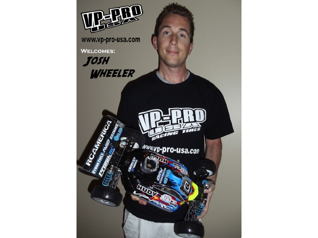 VP Pro USA Signs Josh Wheeler To 2011 Race Team