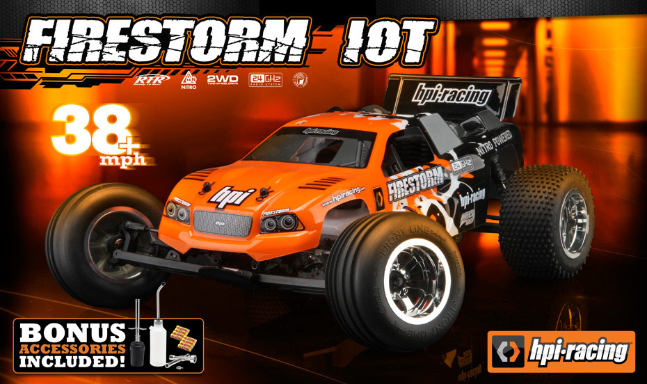 HPI RTR Firestorm 10T Gets Updated