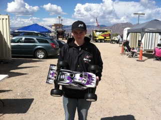 Ty Tessmann Wins 1/8 Truggy At The 2011 Silver State Nitro Challenge