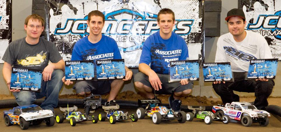 Team Associated/Reedy/LRP Wins Seven Classes At JConcepts Spring Indoor Nationals
