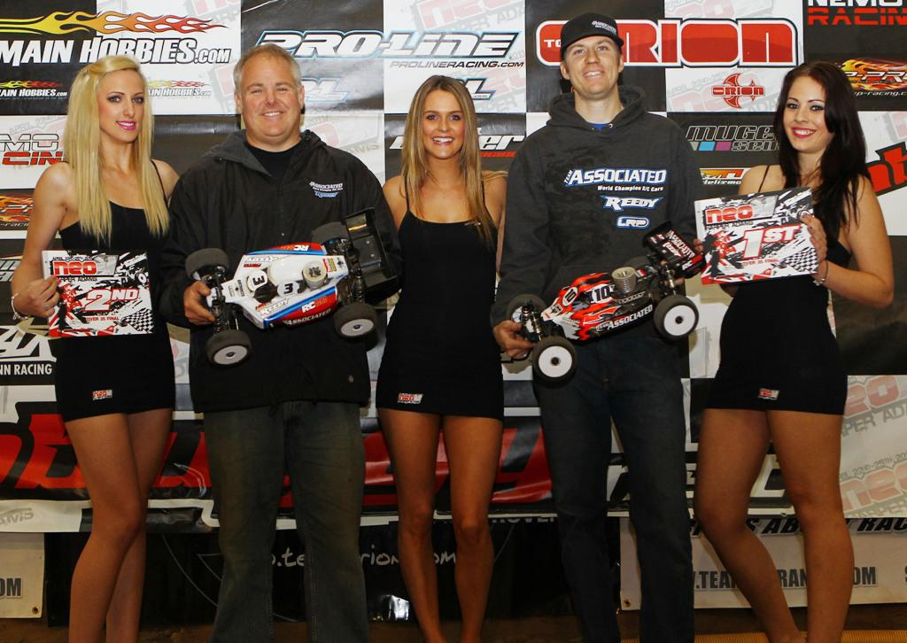 Team Associated/Reedy's Thielke and Hohwart Go 1-2 at Neo11 in 35+ Final