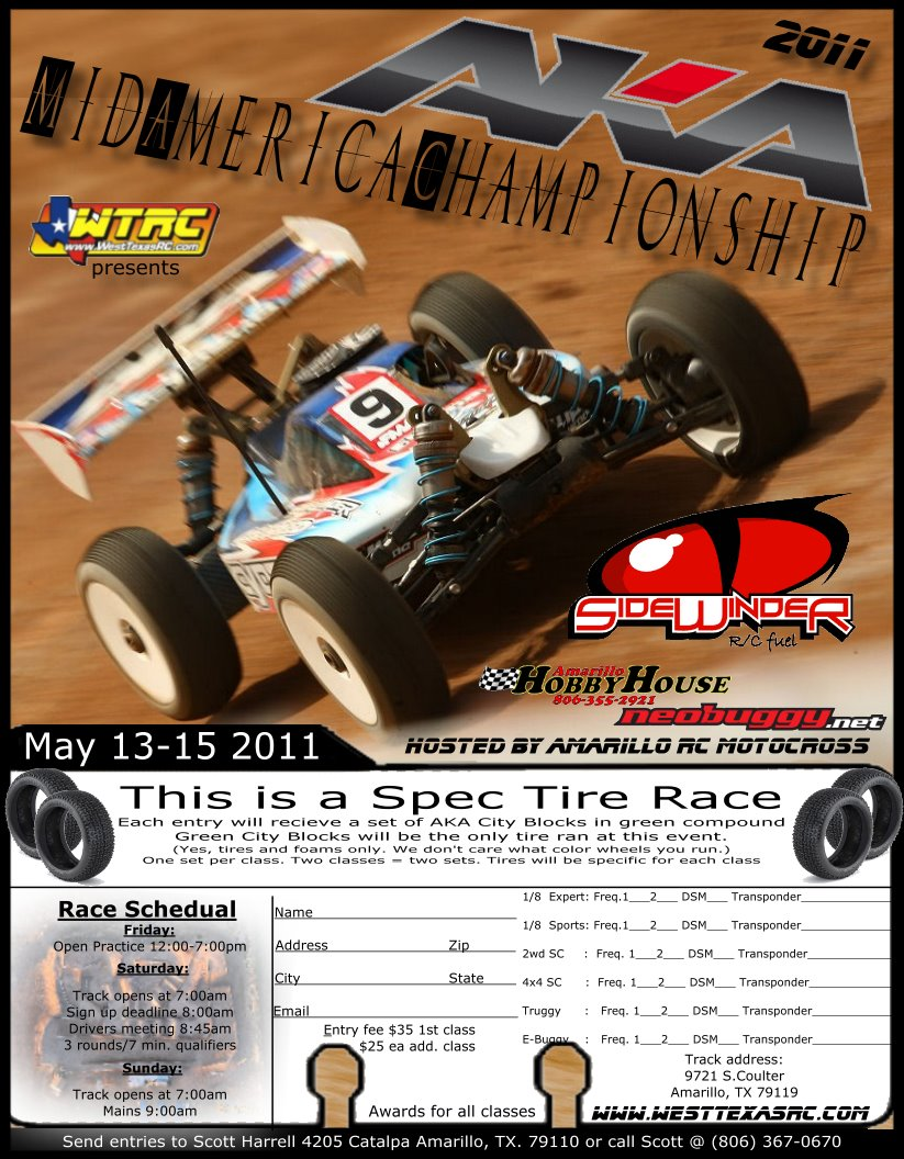 AKA Mid America Championship In Amarillo, Texas May 13-15