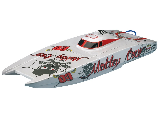 Aquacraft Motley Crew Brushless FE Catamaran RTR
