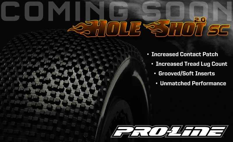 Sneak Peek At Pro-Line's New Hole Shot SC 2.0 Tires