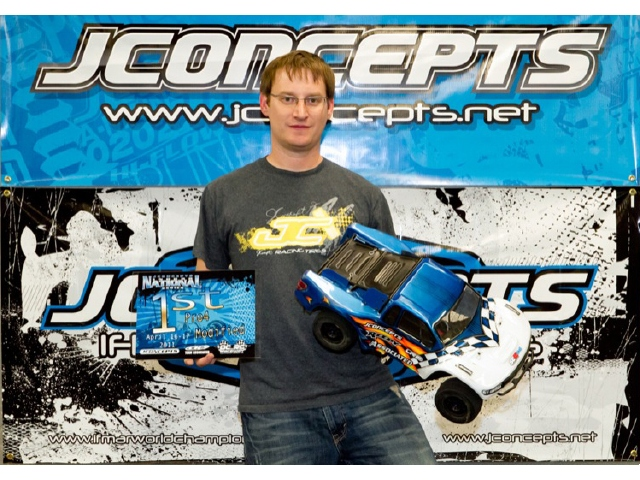 JConcepts Wins Pro 4 And 1/8 E-buggy At Spring Indoor Nationals