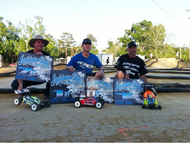 Tekin Sweeps Electric Buggy And Truggy At The Louisiana State Championships