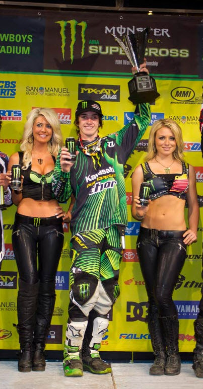 Dean Wilson Scores Third Supercross Win For Pro Circuit/Kawasaki/Traxxas