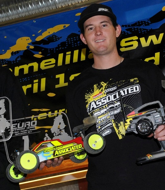 Team Associated's Ryan Cavalieri Wins 4WD Modified At European Offroad Series Pilot