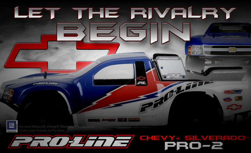 Sneak Peek At Pro-Line's Chevy Silverado PRO-2 SC Body