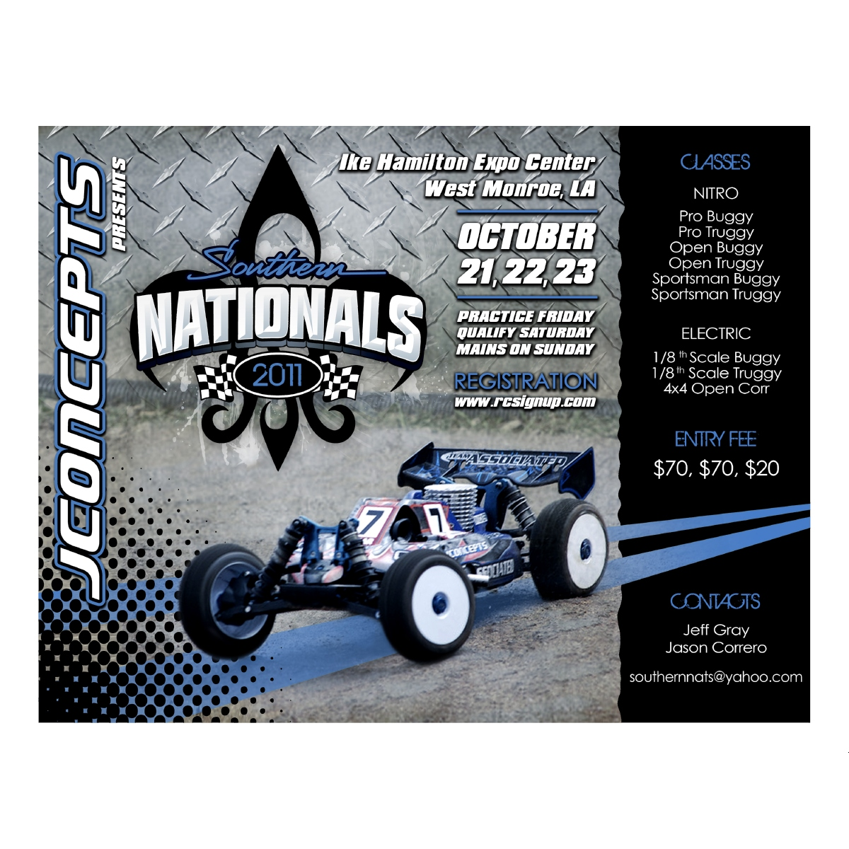 JConcepts 2011 Southern Nationals And R/C Expo