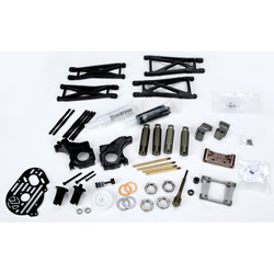 Team Losi Racing XXX-SCT Tuning Kit And Carbon Graphite 8/8t 2.0 Shock Towers