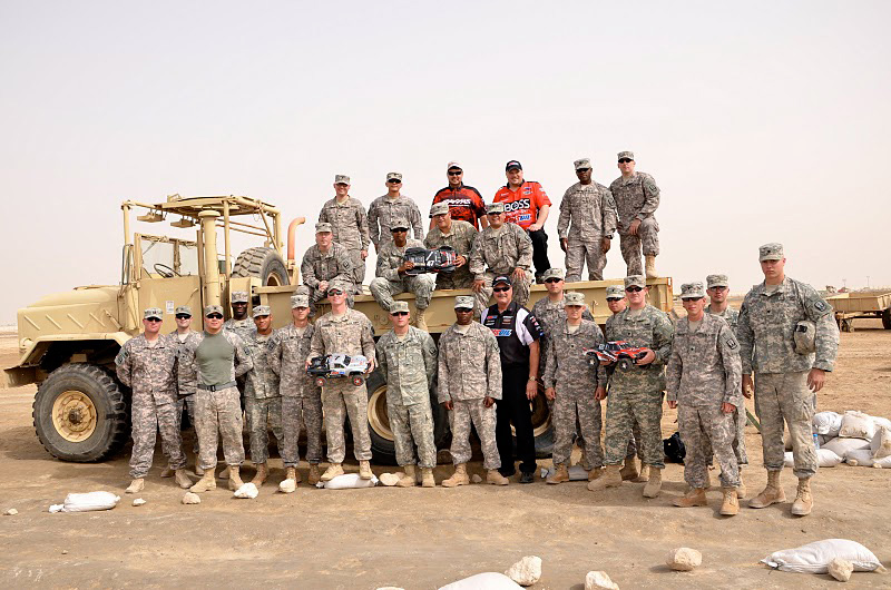 Traxxas Supports US Troops With Off-Road Champions Tour