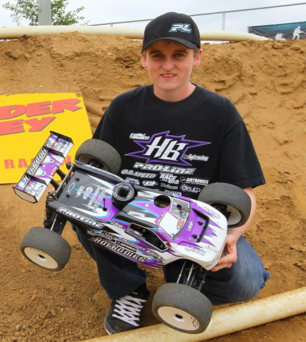 Ty Tessmann Wins 1/8 Truggy At ROAR National Warm-Up Race