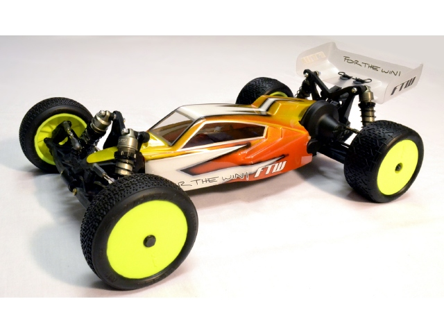 FTW RC Blade And Vane Bodies For the TLR 22
