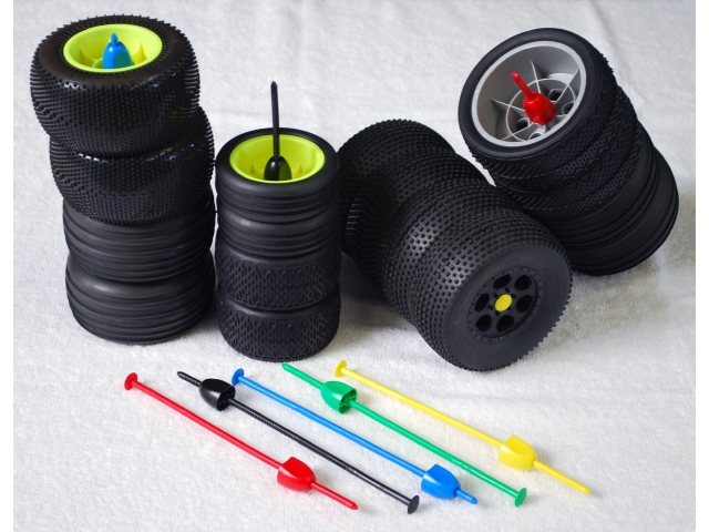 DE Racing Zip Stix 1/10 Tire Organizers