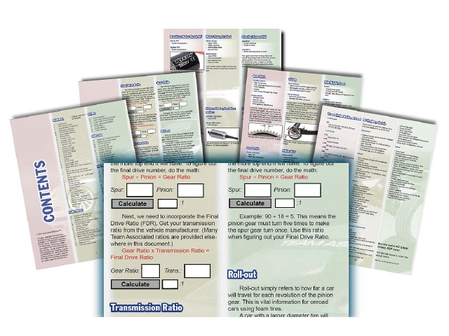 Team Associated RC Cheat Sheets Now Availabe As A PDF