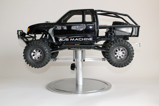 AJS Machine Crawler Stand And SCX10 Hitch V2.0