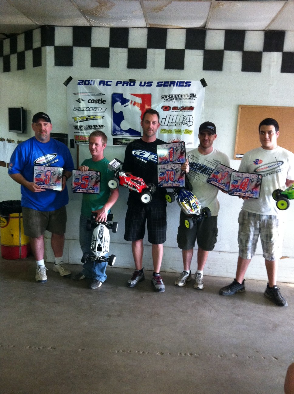 David Joor Wins Again At Round 2 Of The 2011 RC Pro Series Held At Indy RC