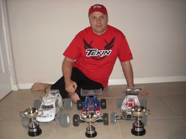 Tekin's Darren Johnston Wins 2011 New Zealand Electric Offroad Nationals, Twice