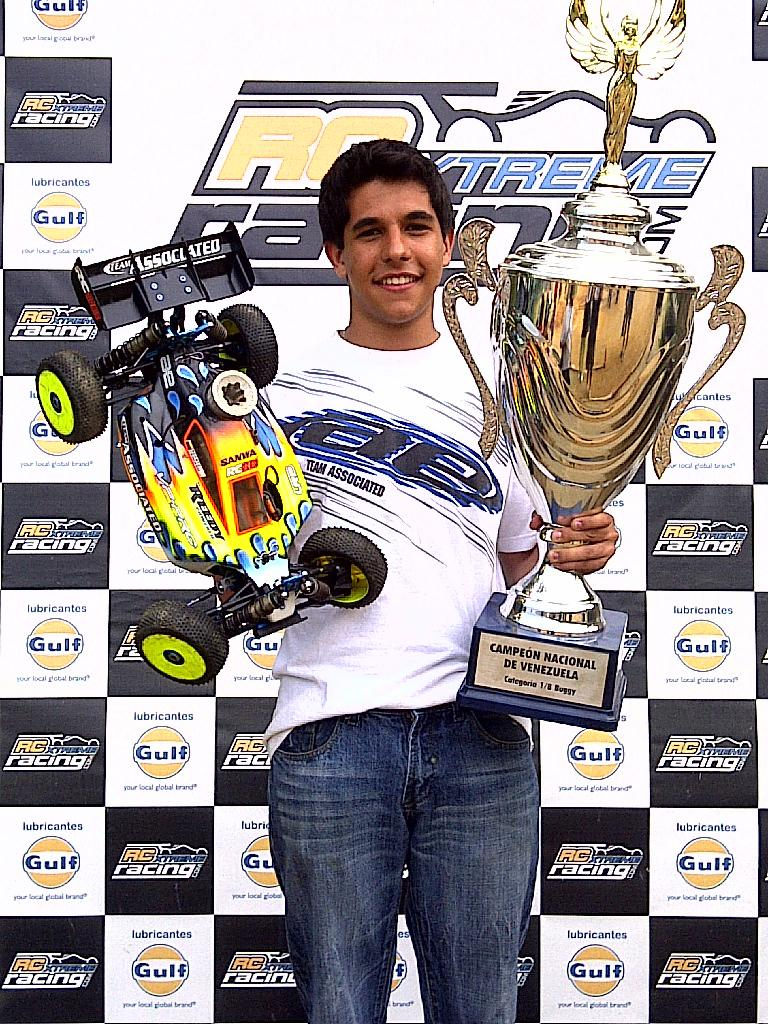 Tradardi Jr. And Reedy Win Venezuelan National Championship