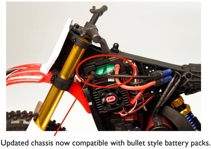 Venom Updates The VMX 450 Dirt Bike