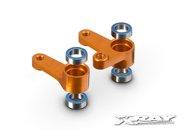 XRAY Aluminum Dual Servo Saver Arm And Ball Bearings