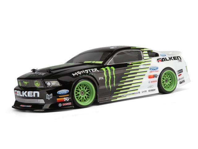 HPI Monster Energy/Falken Tire 2011 Ford Mustang E10 Drift