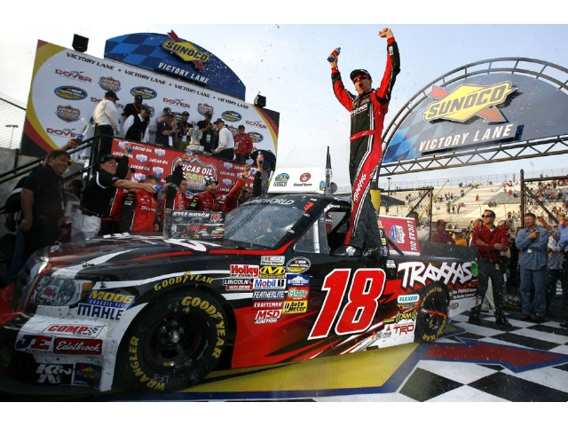 Kyle Busch Gets Fourth Victory With Traxxas