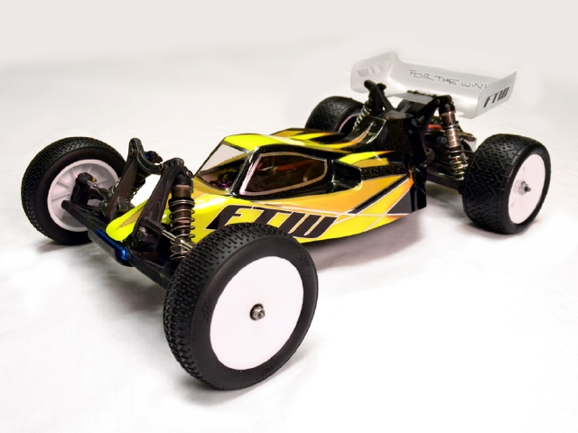 FTW RC Night Fox XL T4.1 Chassis Conversion Body For The B4.1
