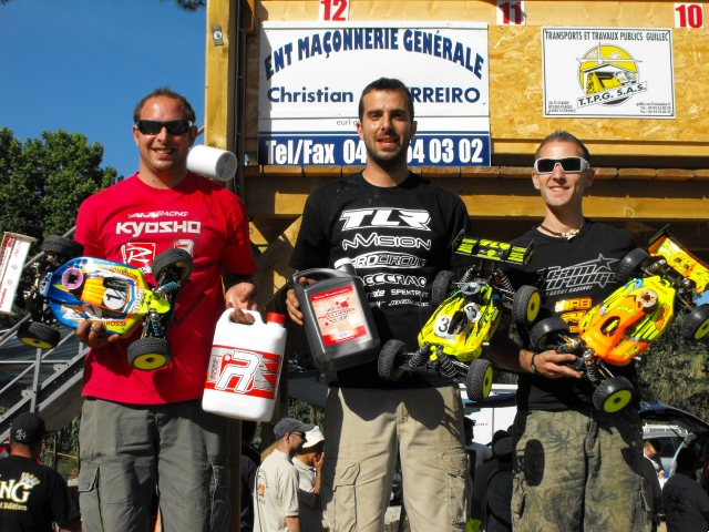 3rd Round Of The French Nationals: TLR And Yannick Aigoin Win