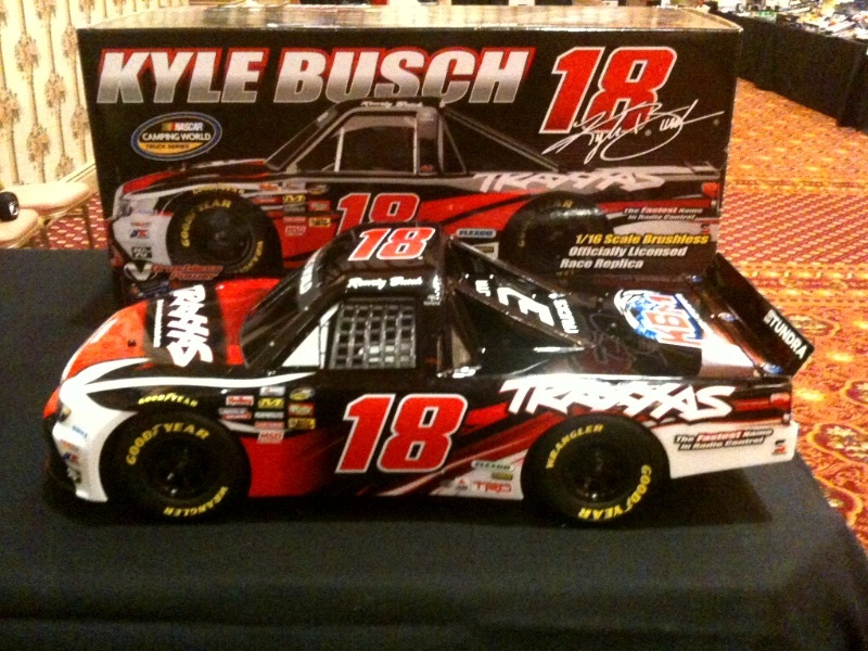 Kyle Busch Traxxas Sneak Peek NASCAR Race Replica–EXCLUSIVE VIDEOS ADDED!