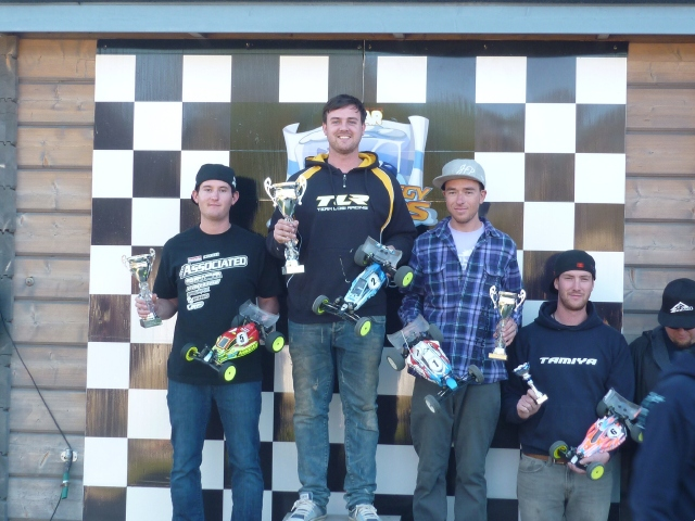 IFMAR Off-road World Championships Warm-up Race: TLR Wins 2WD Mod Buggy
