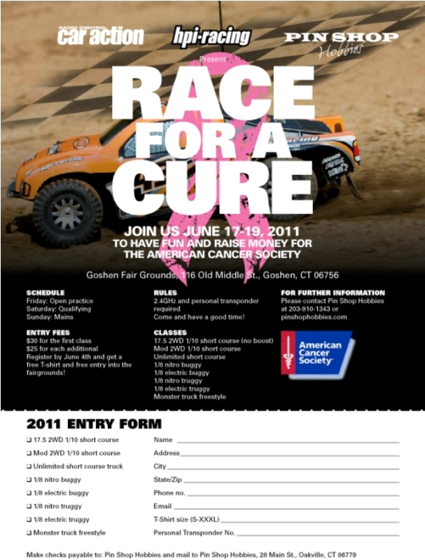 Race For A Cure on for 2011