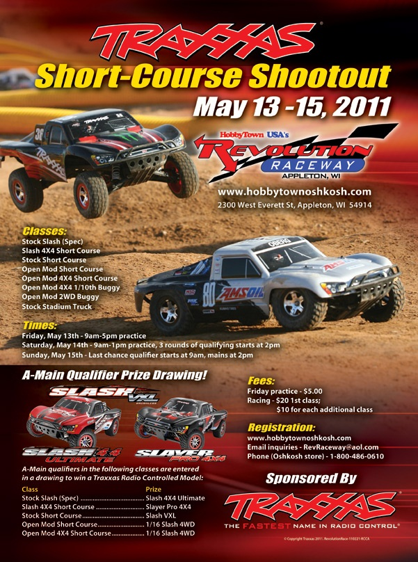 Traxxas Short Course Shootout This Weekend